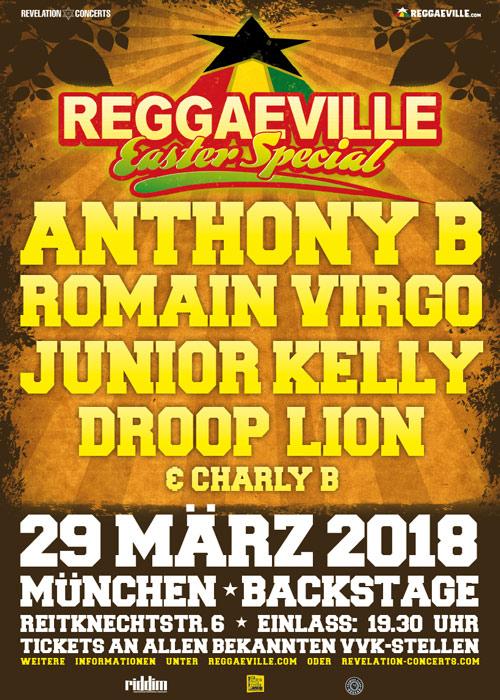 Reggaeville Easter Special - Munich 2018