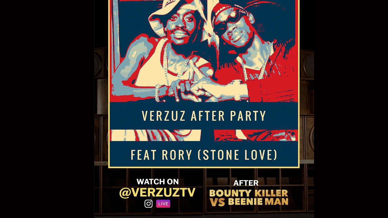 Rory from Stone Love - VERZUZ After Party [5/23/2020]