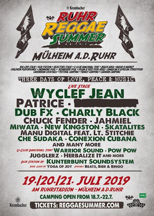 Ruhr Reggae Summer 2019
