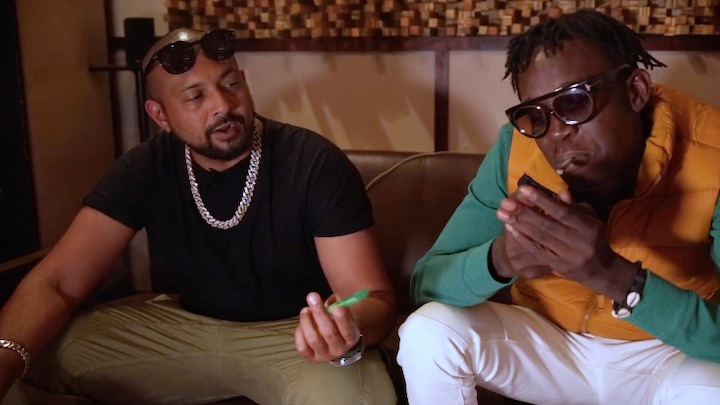 Sean Paul & Chi Ching Ching explain the meaning of Weed Problems [5/2/2019]