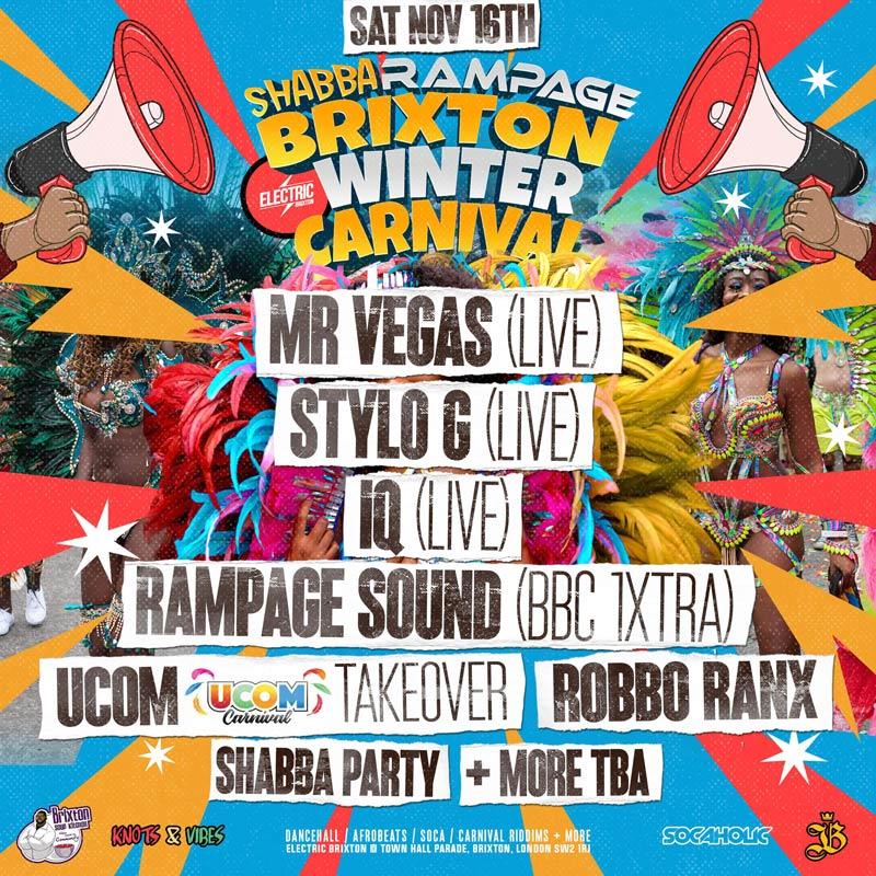 Brixton Winter Carnival 2019