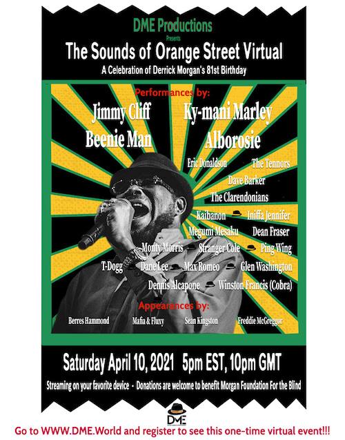 Sounds Of Orange Street Virtual 2021
