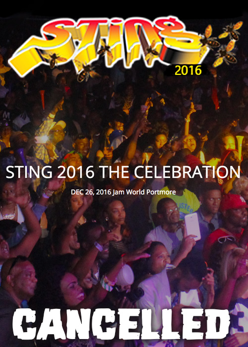 Cancelled: Sting 2016