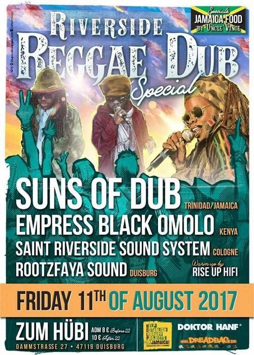 Date: Suns Of Dub 8-11-2017
