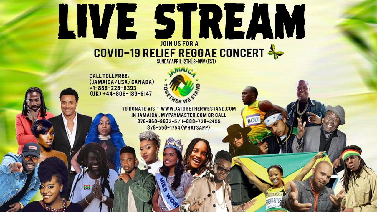 LIVE STREAM: COVID-19 Telethon Jamaica - Together We Stand 2020 [4/12/2020]