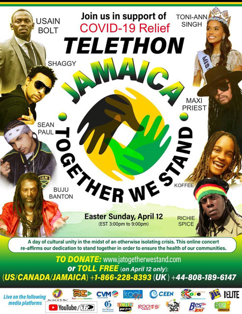 Telethon Jamaica - Together We Stand 2020