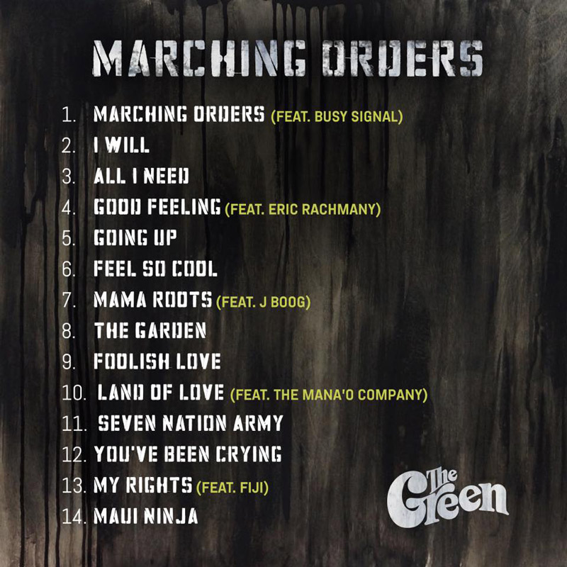 The Green - Marching Orders