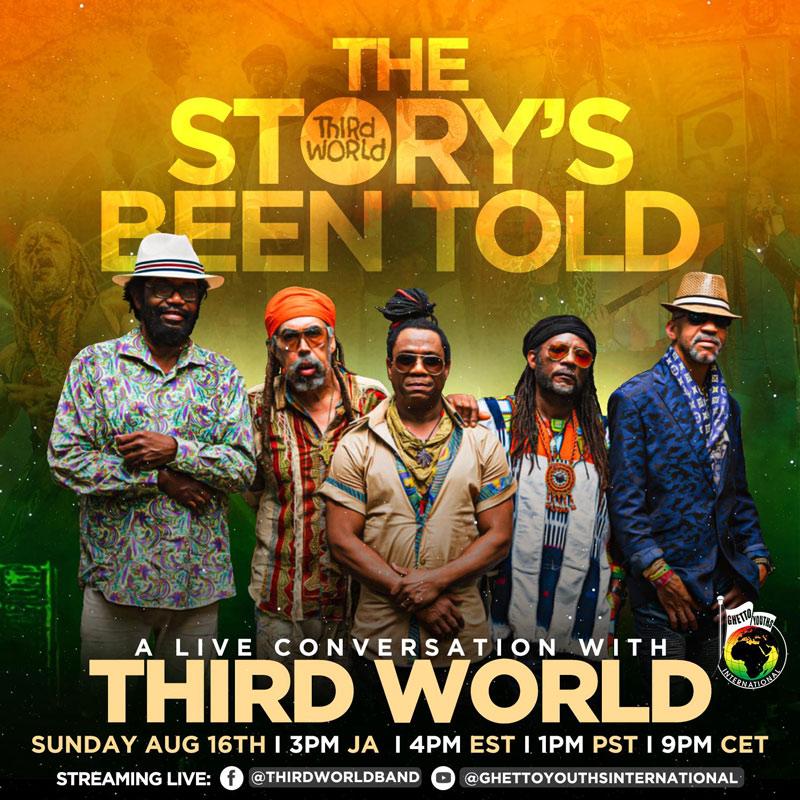 Third World - A Live Conversation... 47th Anniversary 2020