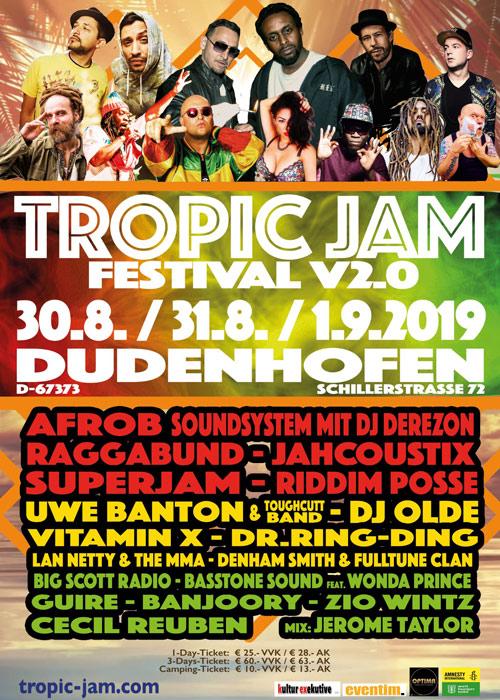 Tropic Jam Festival 2019