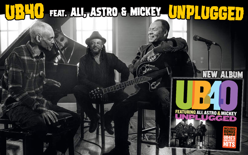 UB40 Unplugged Album Out In November