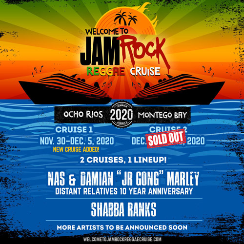 Cancelled: Welcome To Jamrock Reggae Cruise 2020 #1
