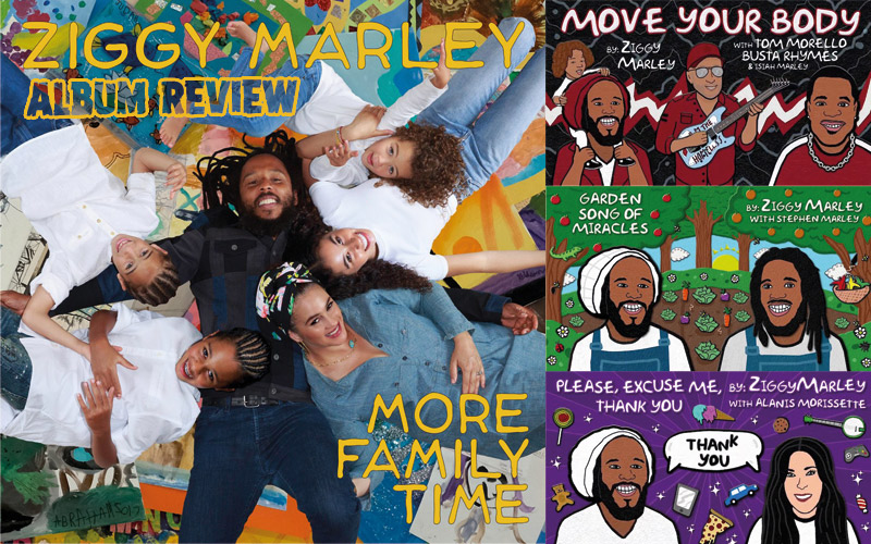 Album Review: Ziggy Marley - More Family Time