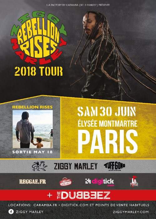 Dates Ziggy Marley