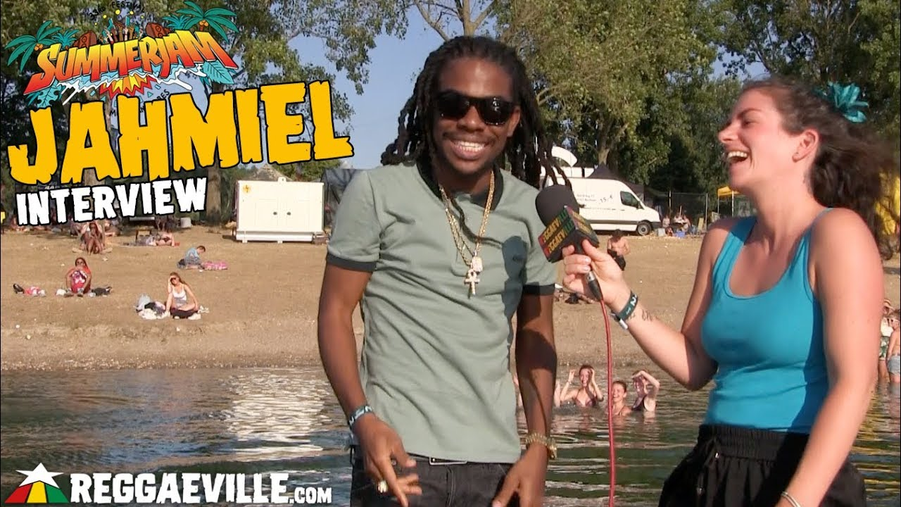 Jahmiel - Interview @ SummerJam 2018 [7/8/2018]