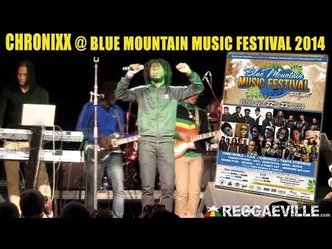 Chronixx & Zince Fence Redemption @ Blue Mountain Music Festival 2014 [2/22/2014]