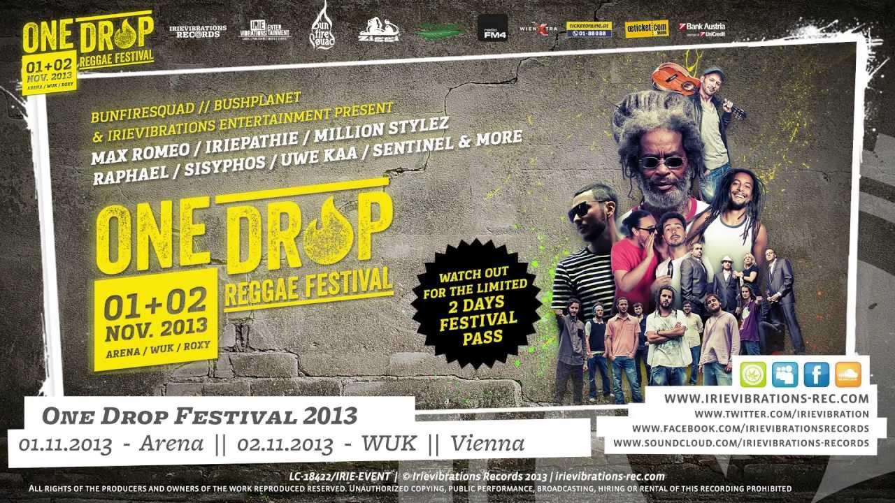 Trailer: One Drop Reggae Festival 2013 [10/22/2013]