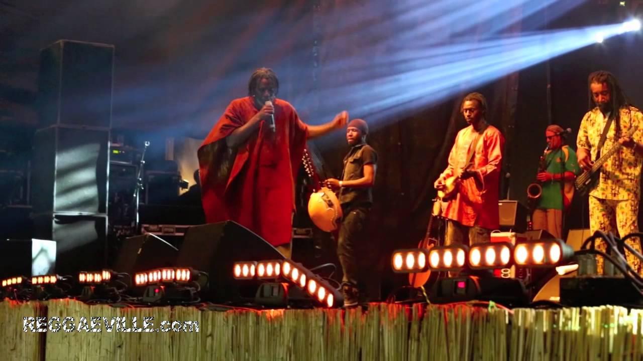 Tiken Jah Fakoly @Reggae Geel [8/4/2012]