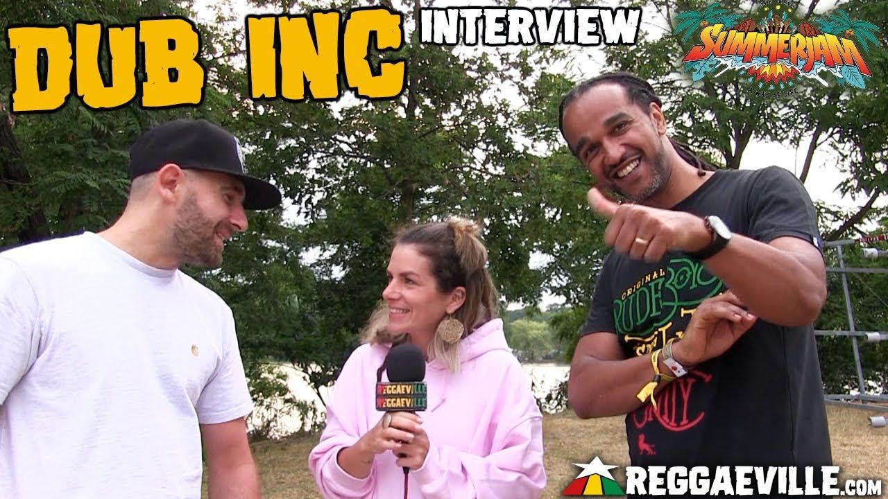 Dub Inc - Interview @ SummerJam 2019 [7/6/2019]