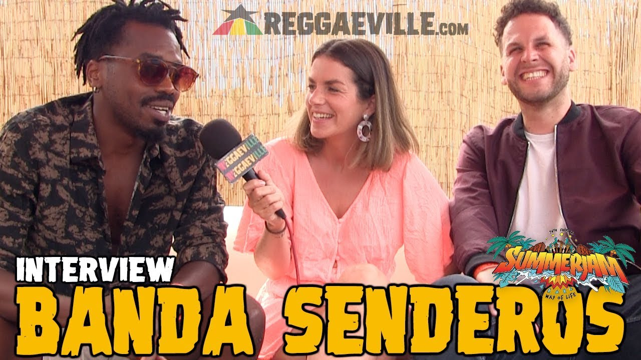 Banda Senderos - Interview @ SummerJam 2019 [7/5/2019]