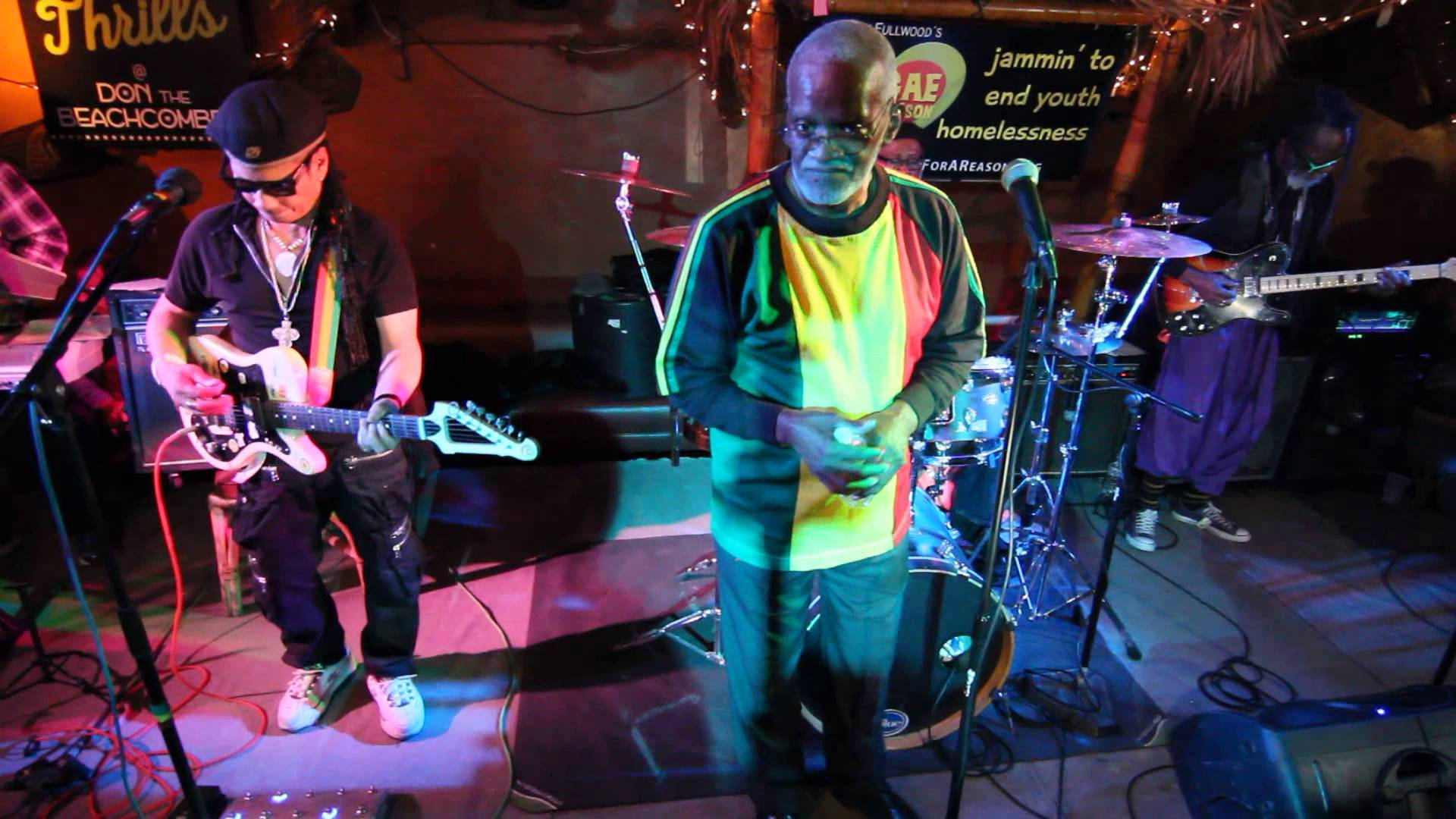 The Soul Syndicate Band - Red, Gold & Green in Huntington Beach, CA, USA [11/15/2015]