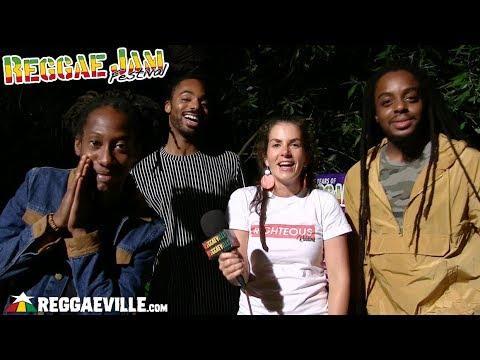 New Kingston - Interview @Reggae Jam 2018 [8/5/2018]