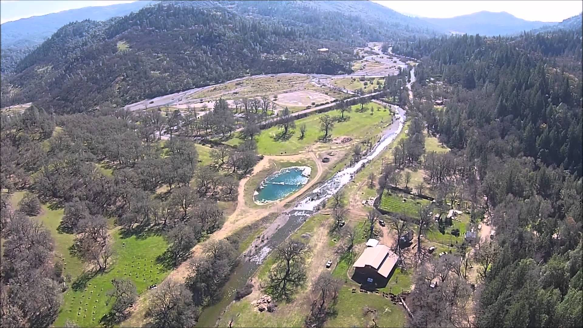 Fire In The Barn 2015 (Aerial View) [3/7/2015]