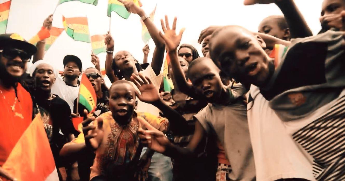 Yaniss Odua - Rouge Jaune Vert Remix (Cote d'Ivoire All Stars) [4/20/2016]