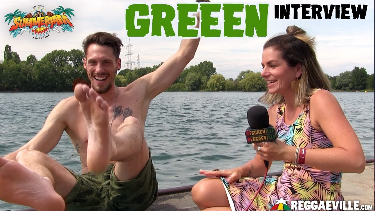 GReeeN - Interview @SummerJam 2019 [7/6/2019]