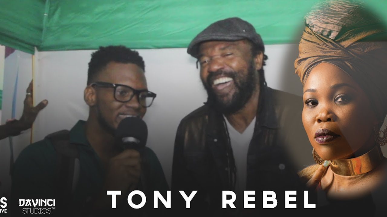 Interview with Tony Rebel @ Rebel Salute 2018 (Dutty Berry) [1/13/2018]