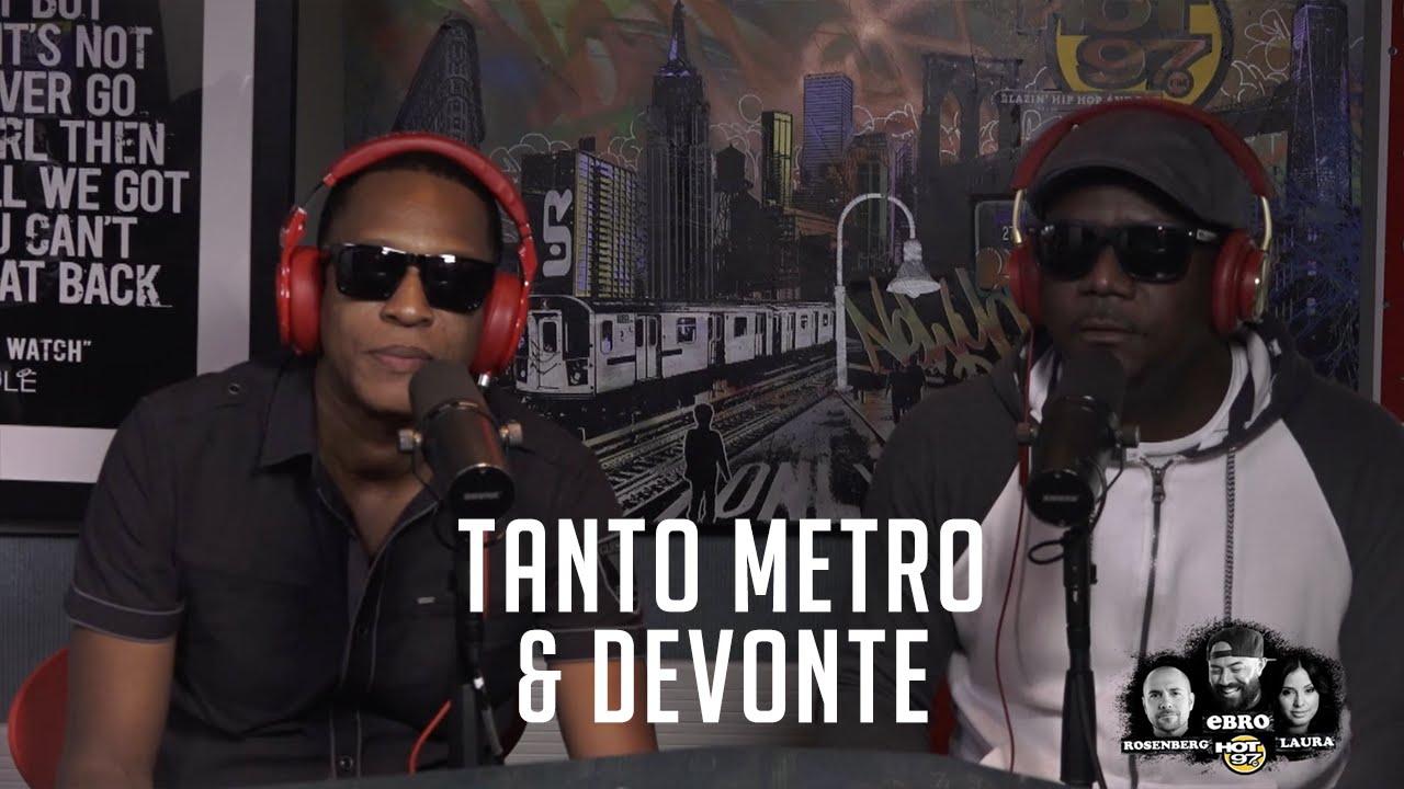 Interview with Tanto Metro & Devonte @ Hot 97 [9/1/2016]