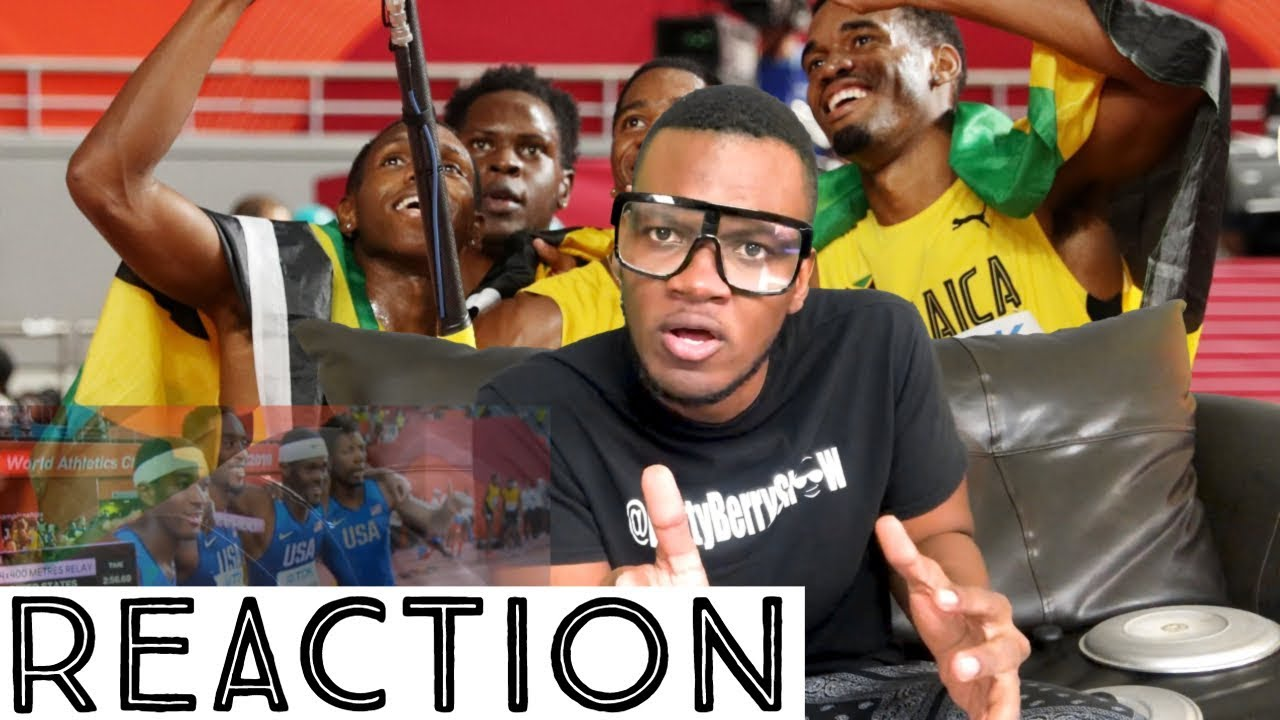 Jamaican Men's 4x400m Relay Team Storm to Silver in Doha (Reaction) [10/7/2019]