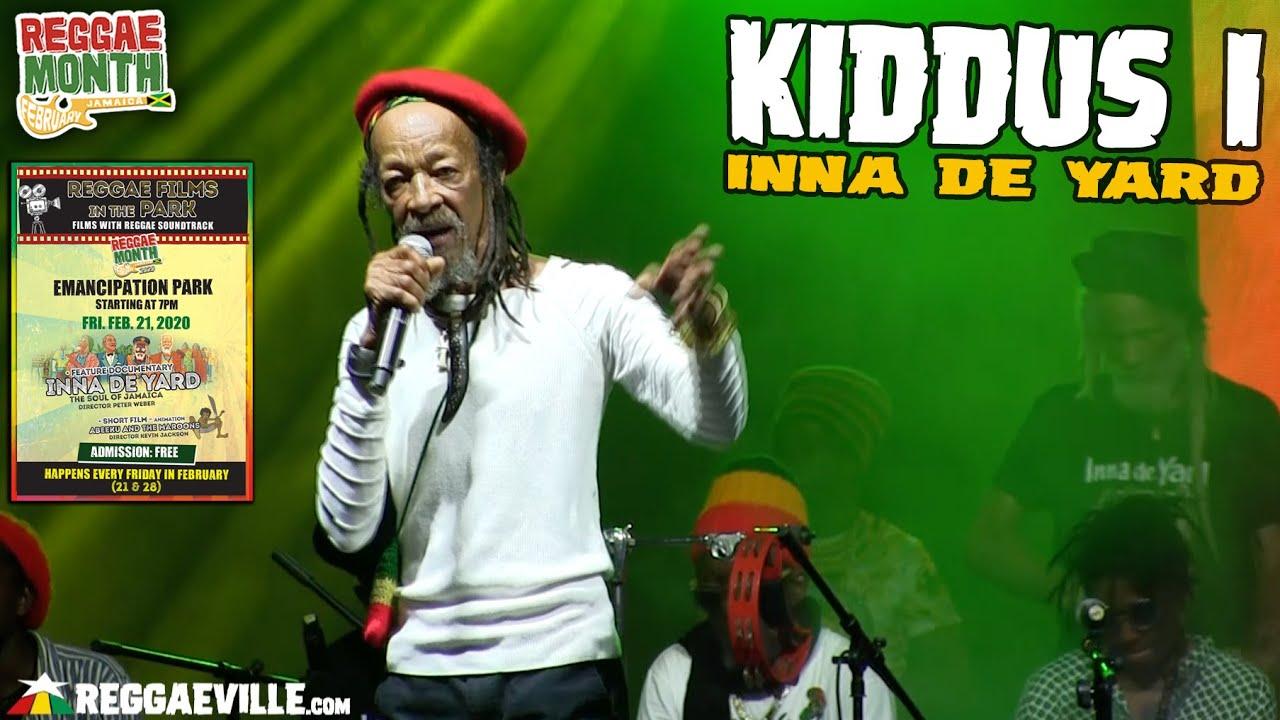 Kiddus I - Inna De Yard in Kingston, Jamaica @ Emancipation Park [2/21/2020]