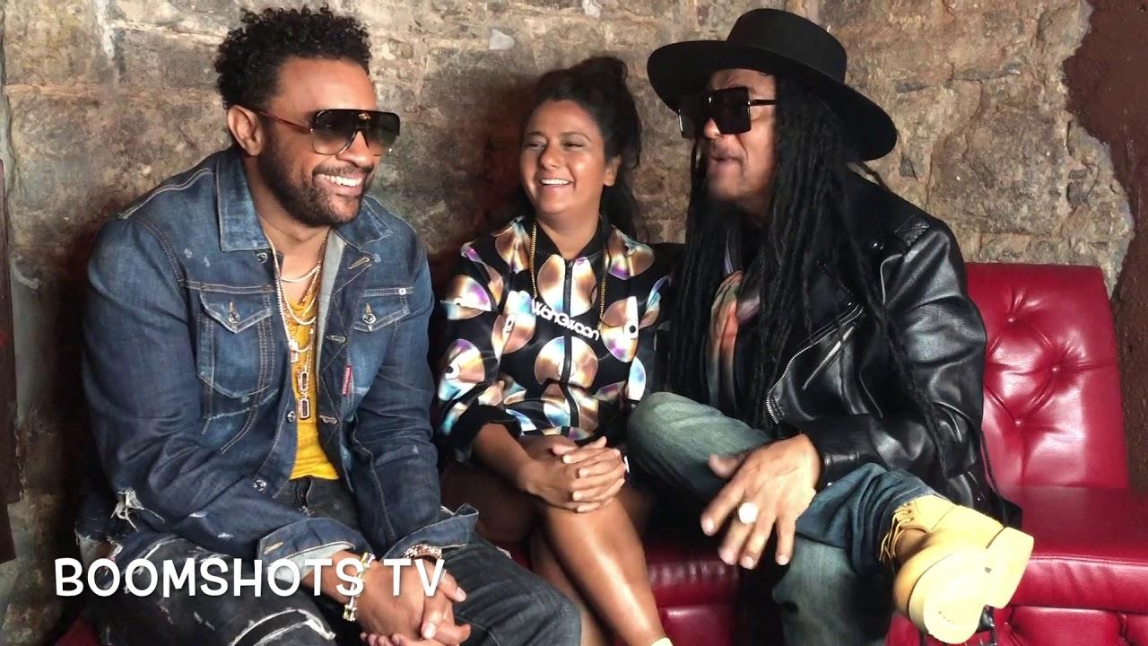 Maxi Priest & Shaggy Interview @ I'm Alright Video Shoot (Boomshots TV) [7/11/2019]