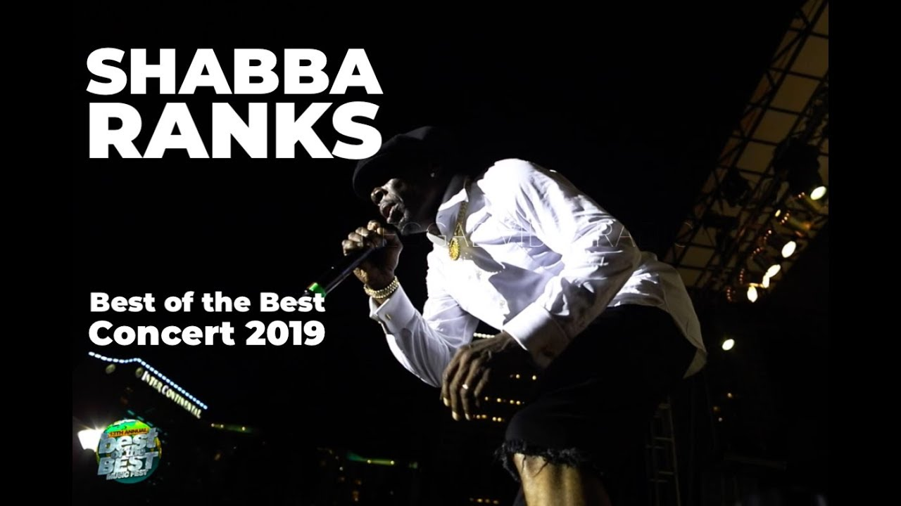 Shabba Ranks in Miami, FL @ Best of the Best 2019 [5/26/2019]