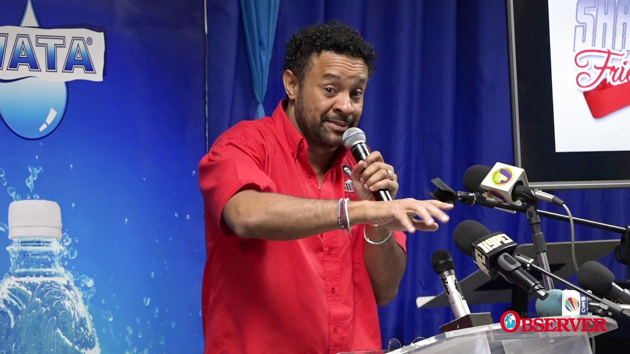 Shaggy Press Conference [11/15/2019]