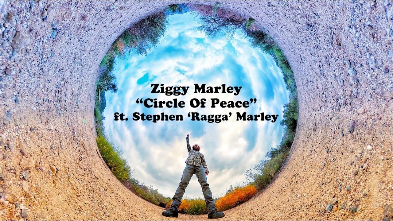 Ziggy Marley feat. Stephen Marley - Circle Of Peace (Lyric Video) [5/3/2018]