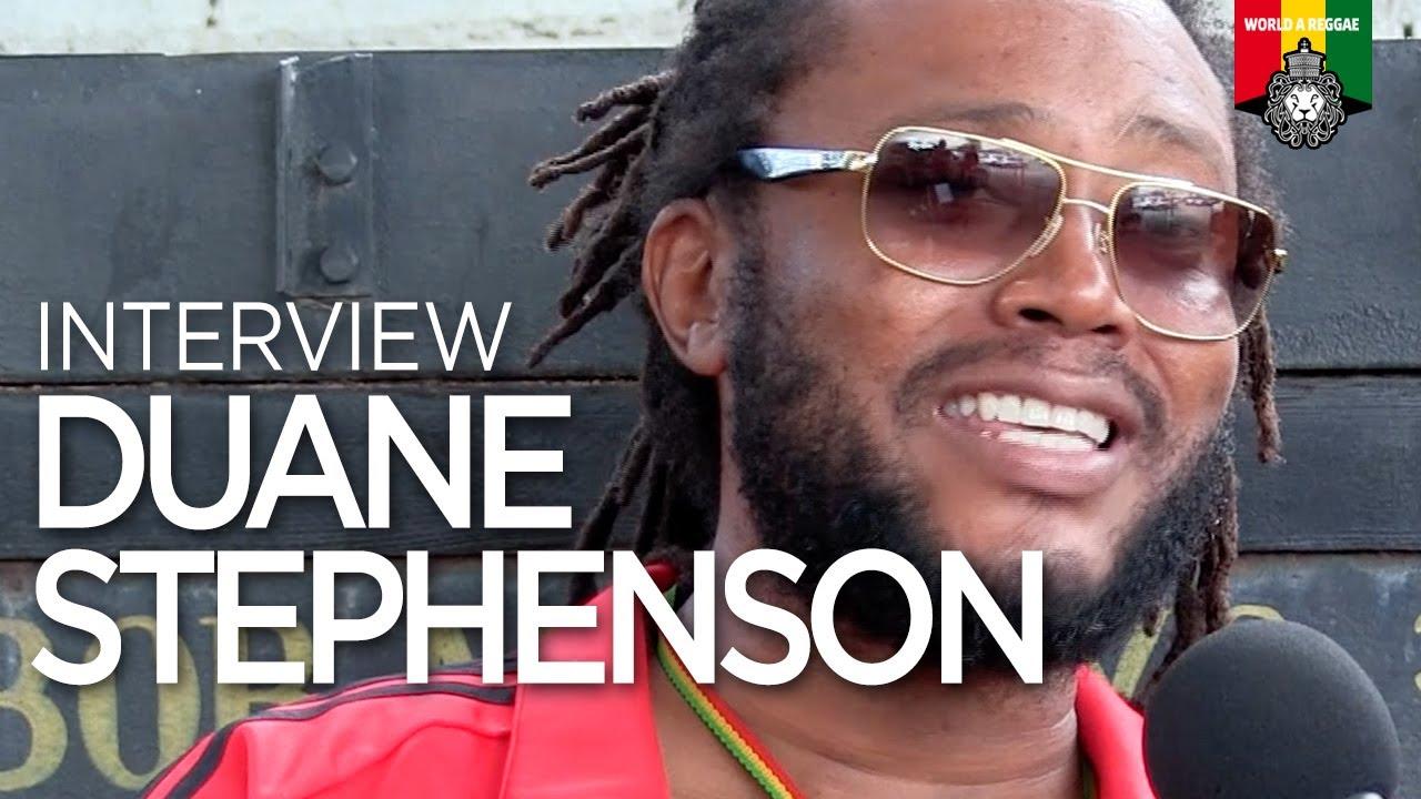 Duane Stephenson Interview @ World A Reggae [5/12/2019]