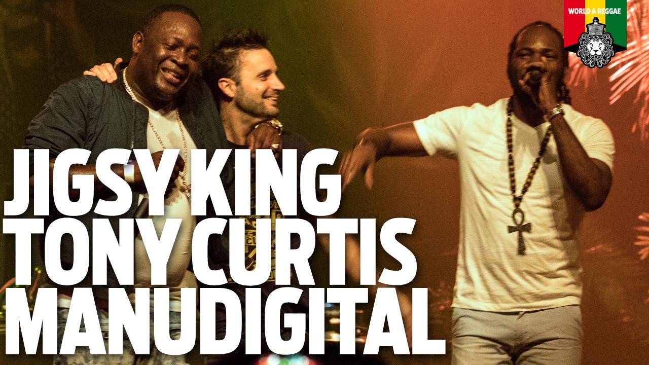Jigsy King, Tony Curtis & ManuDigital @ Smile - Bob Marley Birthday Special [2/4/2017]