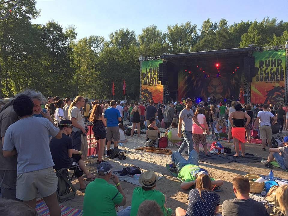 Report from Ruhr Reggae Summer in Dortmund 2015 by SportLive TV [6/5/2015]