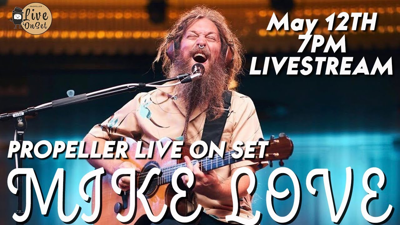 Mike Love - Live From Hawaii Theatre (Livestream) [5/12/2021]