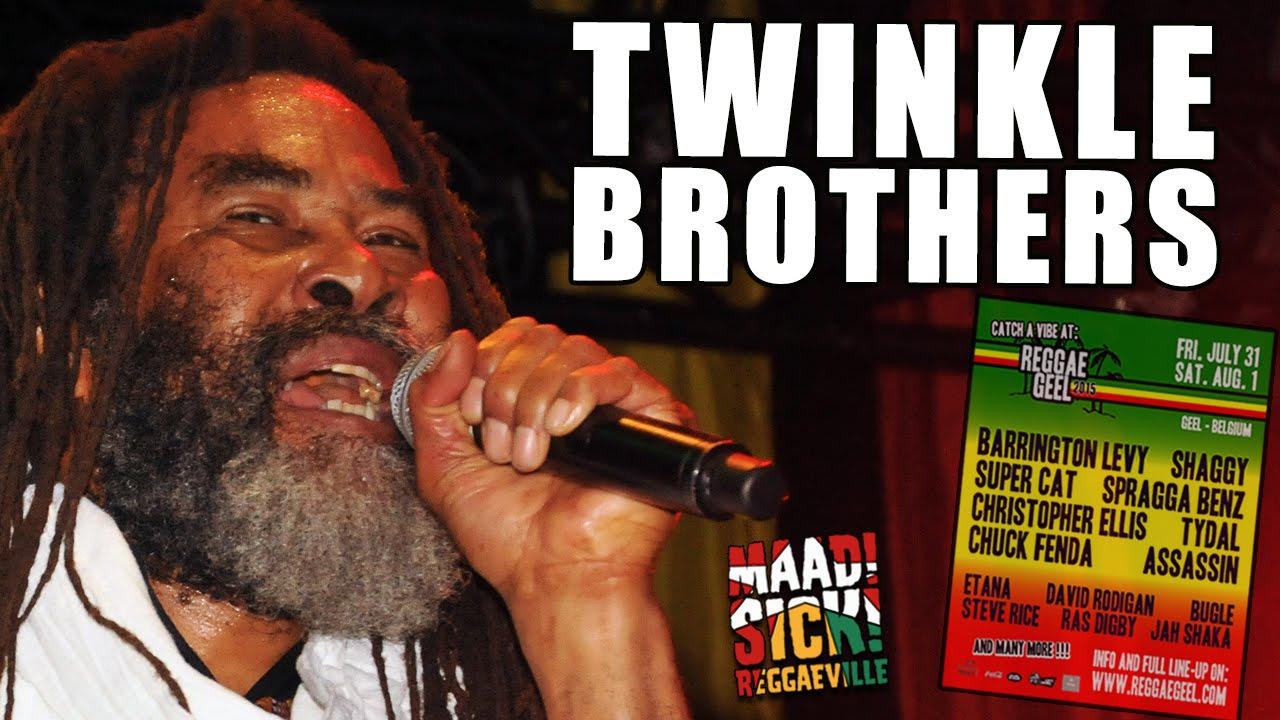 Twinkle Brothers - Babylon Falling @ Reggae Geel 2015 [8/1/2015]