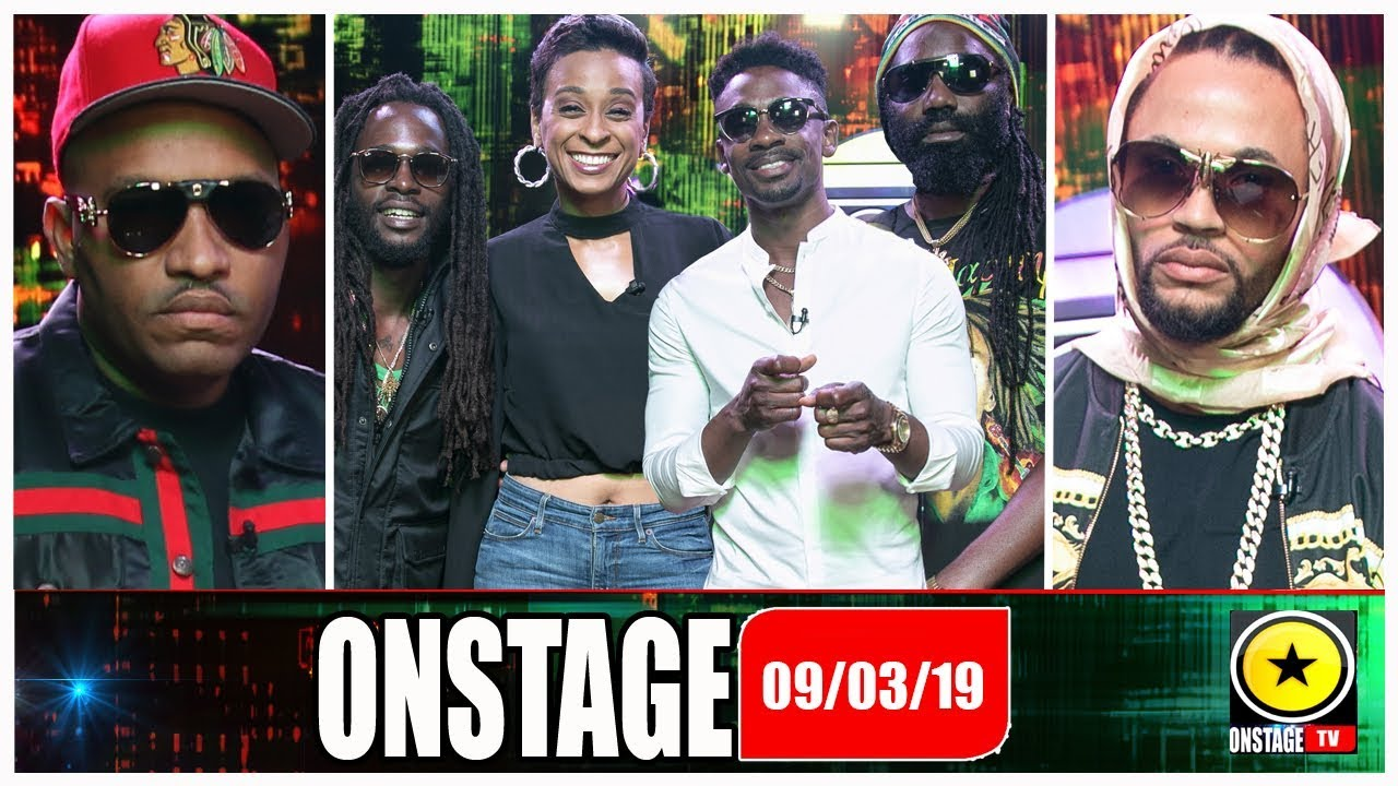 Lord Kavalli, Mr G, Jesse Royal, Chris Martin, Alaine, Ginjah @ OnStage TV [3/9/2019]