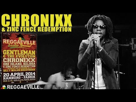 Chronixx & Zinc Fence Redemption @ Reggaeville Easter Special in Hamburg [4/20/2014]