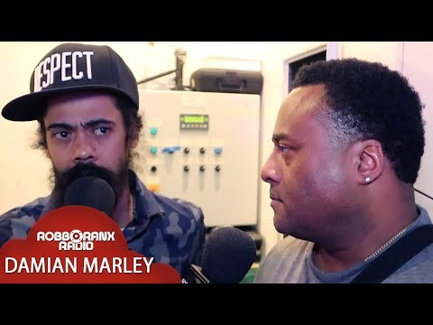 Damian Marley Interview @ WTJRC 2018 by Robbo Ranx [12/5/2018]