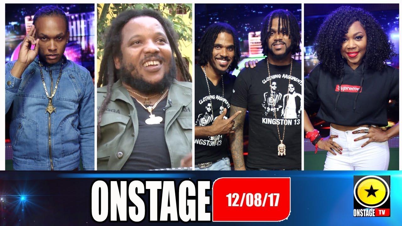 Stephen Marley, Twin of Twins, Xklusive, Kim Nain @ Onstage TV (Full Show) [8/12/2017]