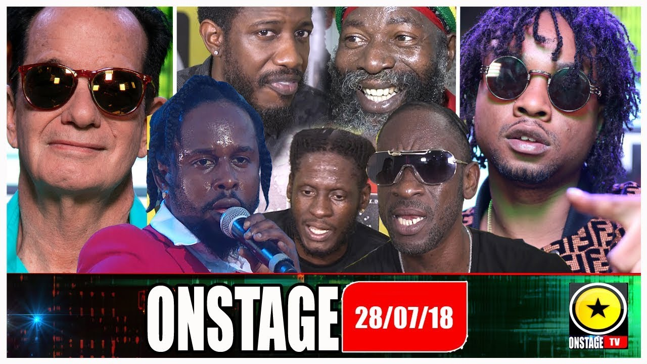 Rygin, Popcaan, Bounty, Aidonia, Capleton, Wayne Marshall, Joe @ Onstage TV [7/28/2018]