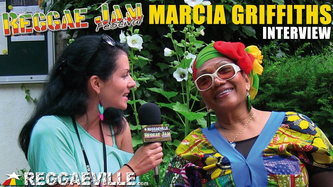 Interview with Marcia Griffiths @ Reggae Jam [8/4/2013]
