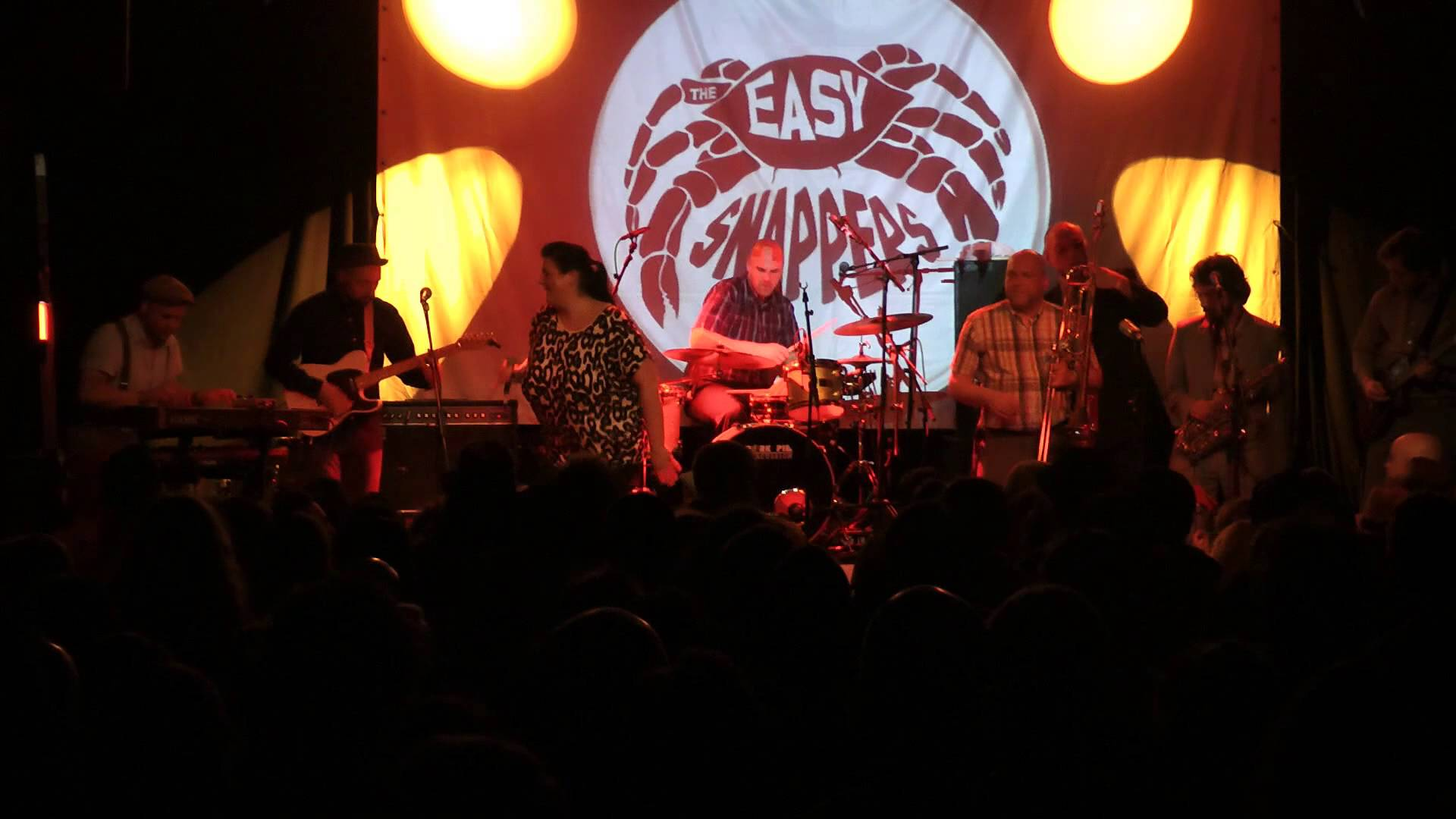 The Easy Snappers - Down The Street in Cologne, Germany @ Freedom Sounds Festival 2015 [4/25/2015]