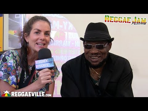 Derrick Morgan - Interview @ Reggae Jam 2018 [8/5/2018]