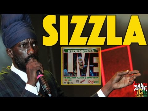Sizzla Kalonji in Kingston, Jamaica @ Redemption Live 2016 [2/7/2016]